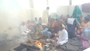 KPs throng Nagbal Shopian to participate in annual Kapal Mochan Shradh