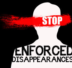 International Day of Enforced Disappearances