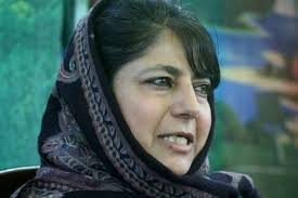 Mehbooba urges Modi to adopt Atal's policy