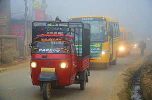Dense fog disrupts air, rail services in Valley