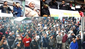 Students from Kargil demand competitive entrance exam centers in Ladakh