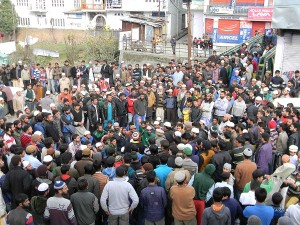 Bhaderwah observes partial bandh; Muslims hold protests in Jammu against Hindu Mahasabha chief