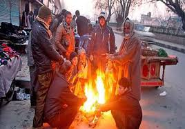 Night temperatures improve in Kashmir