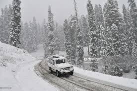 Fresh snowfall in higher reaches of Kashmir Valley