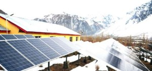 KREDA using renewable energy sources to reduce carbon emission in Kargil