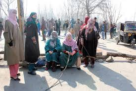 Anti-NFSA protests continue in Kashmir Valley