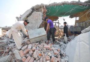 Burnt houses, injured bear testimony to Sarore horror