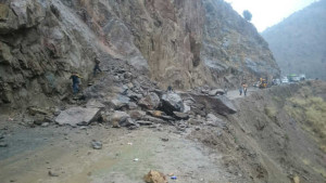 Two killed, three hurt as rain triggers landslides in ramsu area