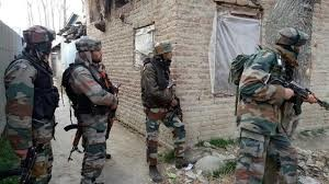 Forces attacked with stones during search operation in Pulwama