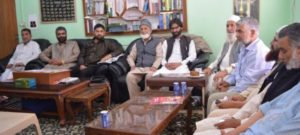 Geelani, Yasin vow to resist Indian designs jointly