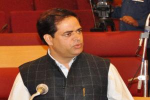 Vikar Rasool demands his assembly segment be attached with Kashmir province
