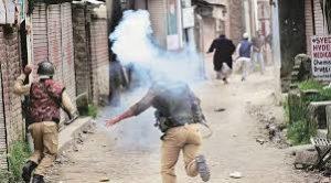 Violent protests after Hizb militant killed in Kupwara
