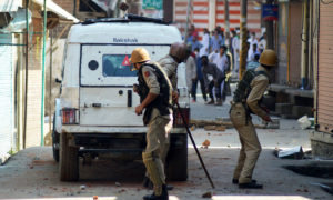 Pro-freedom rally in Anantnag; 40 Injured in clashes including 7 women