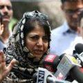 Only Modi can heal Jammu & Kashmir: Mehbooba Mufti