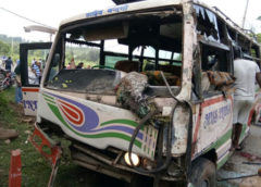 Three killed, Scores injured in Samba road accident