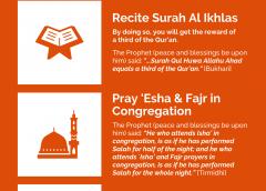 The last ten nights of Ramadan and Laylatul-Qadr