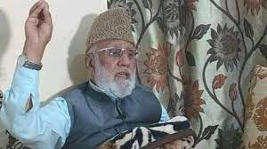 Chairman Tehreek-e-Hurriyat, Mohammad Ashraf Sehrai passed away at a Jammu hospital