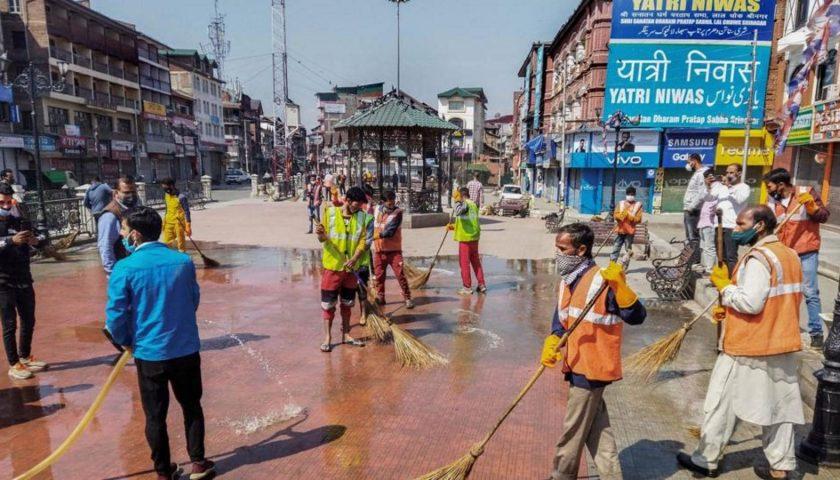 District Srinagar declared as Covid-19 Red Zone