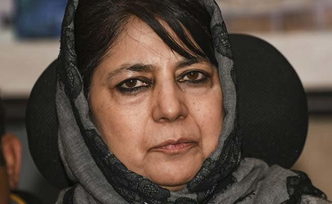 Ex J&K Cop caught with militants 'Let Off', While Kashmiri's are guilty until proven innocent: Mehbooba Mufti