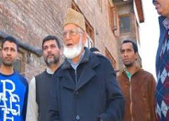Kashmir is facing the new monster of drugs, Geelani joins the fight