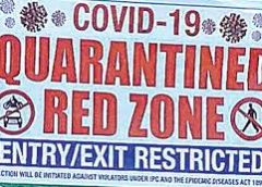 #Coronavirus: As lockdown enters 13th-day, 26 Areas across J&K declared as 'Red Zones'