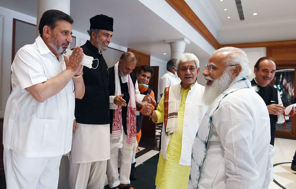 PM Modi engages with mainstream Kashmiri leaders, but why now