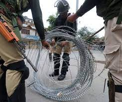 What does GoI want to do in Kashmir?