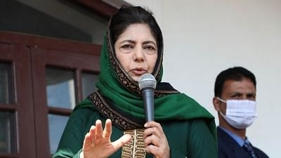 The Only motive behind the Article 370 move seems to loot J&K - Mehbooba Mufti