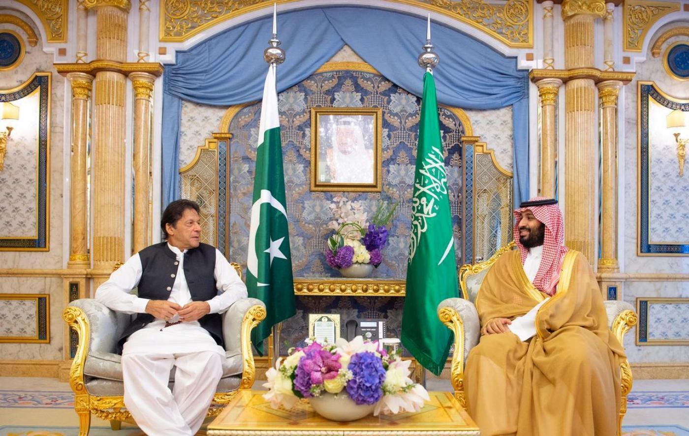 Pakistan & the Kingdom of Saudi Arabia agree to work on Kashmir, Palestine, Yemen