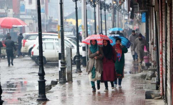 Weather Alert - Heavy rain warning in J&K for July 19-21