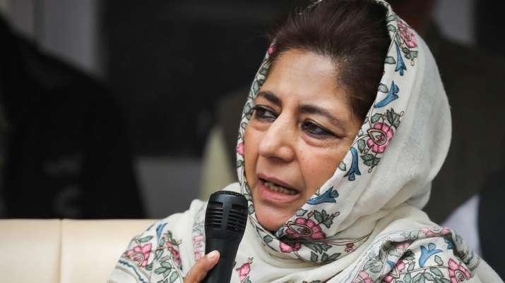 BJP using Taliban, Afghanistan issues to garner votes - Mehbooba Mufti
