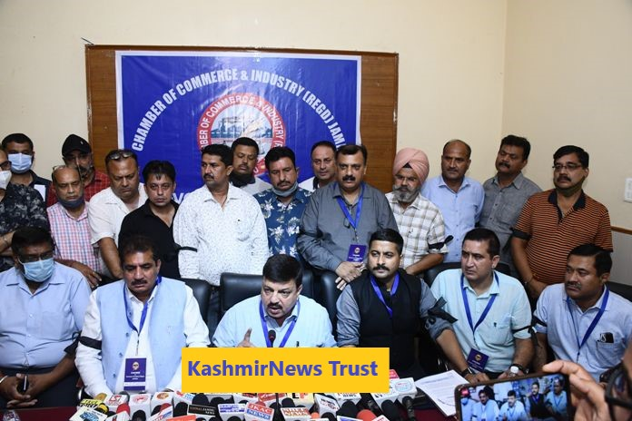 Jammu Traders called for a shutdown on September 22 against the opening of Reliance Stores