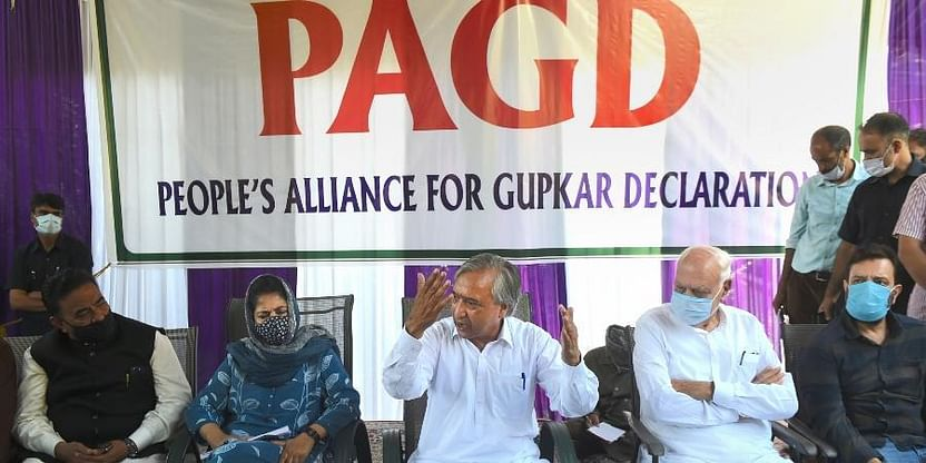 Far from Reality, Fabricated, Concocted - PAGD on Home Ministry's Kashmir Report