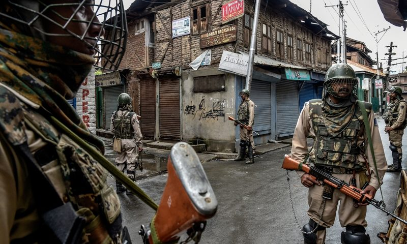 What is behind the recent surge in violence in Kashmir?